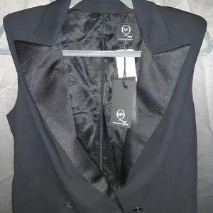 Alexander McQueen tuxedo dress size 44 (L) NWT